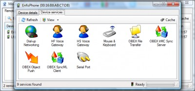 Medieval Bluetooth Network Scanner 1.4.0.0 screenshot