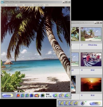 Megashow 1.7 screenshot
