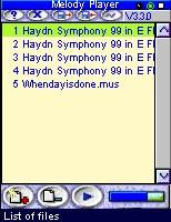 Melody Player 6.3.3i screenshot