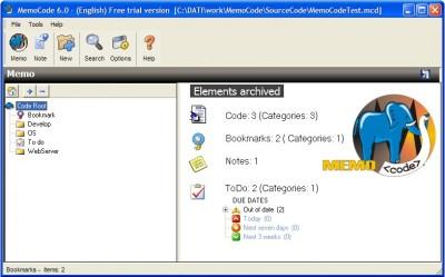 MemoCode 6.0 screenshot
