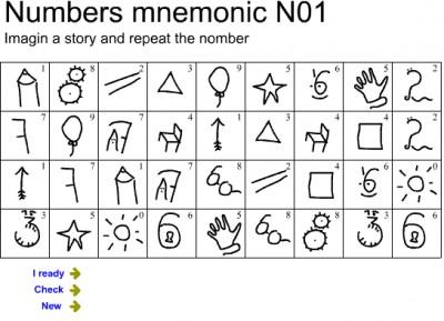 Memorize digits 01 1 screenshot
