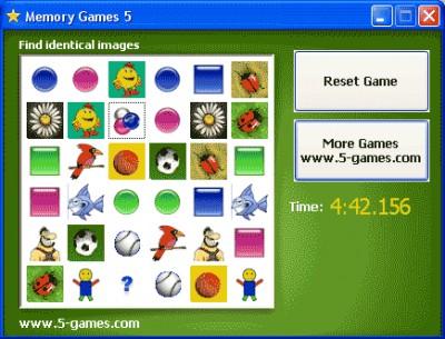 Memory Games 5 5.0 screenshot