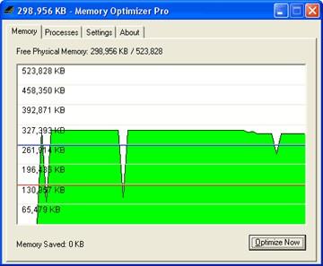 Memory Optimizer 2002a screenshot