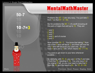 Mental Math Master 1.2 screenshot