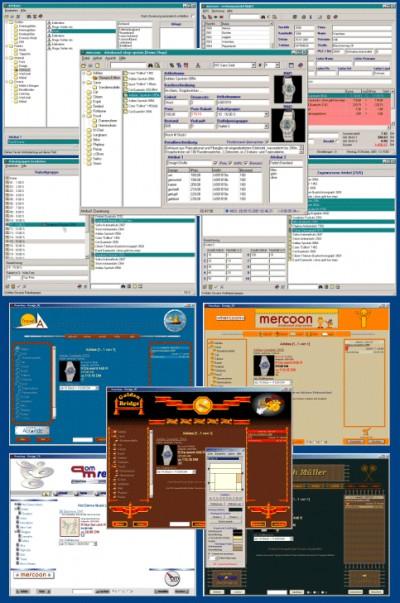 mercoon databased shop-system 1.0 screenshot