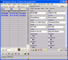 Message Organizer Deluxe 4.12 screenshot