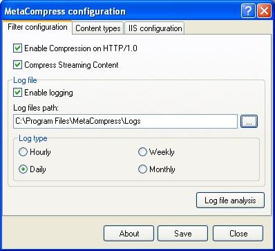 MetaCompress 2.4 screenshot