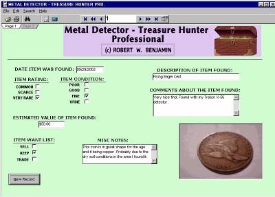Metal Detector - Treasure Hunter Pro 7.0 screenshot