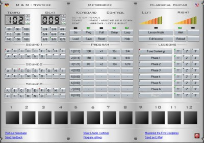Metronome Plus 2.001 screenshot