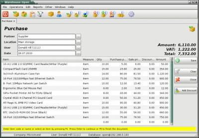 Microinvest Warehouse Open 1.6.10.24 screenshot