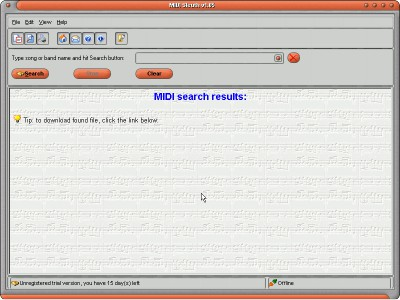 MIDI Sleuth 1.05 screenshot