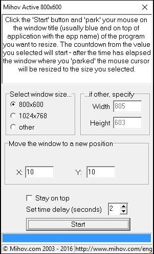 Mihov Active 800x600 4.0 screenshot