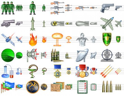 Military Icon Set 7.0 screenshot
