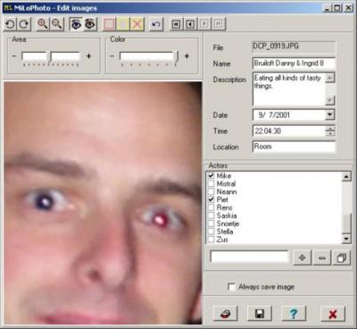 MiLoPhoto 2.3 screenshot