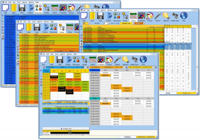Mimosa Scheduling Software Freeware 7.2 screenshot