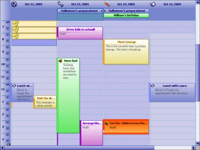 MindFusion.Scheduling for ASP.NET 3.2 screenshot