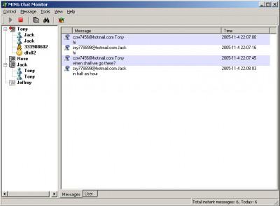 MING Chat Monitor Home 3.5 screenshot