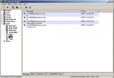 MING Network Monitor 4.0 screenshot