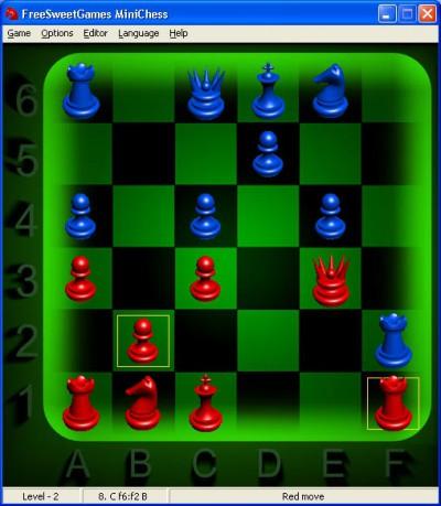miniCHESS 2.0.8 screenshot