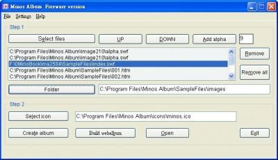 Minos Album 2.6.9.319 screenshot