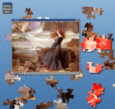 Miranda and the Tempest Jigsaw Puzzle 1.5 screenshot