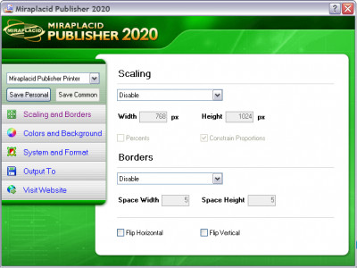 Miraplacid Publisher 7.1 screenshot