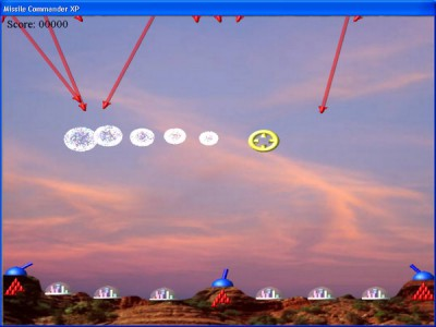 Missile Commander XP 1.2 screenshot