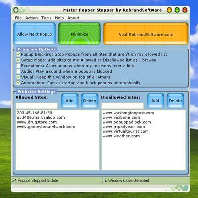 Mister Popper Stopper 2.1 screenshot