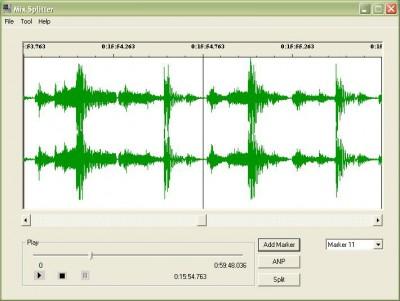 MiX Splitter 1.00 screenshot