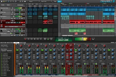 Mixcraft 9.0.460 screenshot
