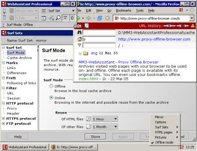 MM3-WebAssistant - Proxy Offline Browser - Pro 2017 screenshot