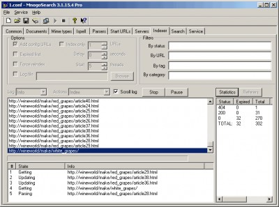 mnoGoSearch Pro Standard Edition 3.2.42.1 screenshot