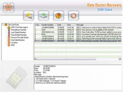 Mobile Sim Card Backup 3.0.1.5 screenshot
