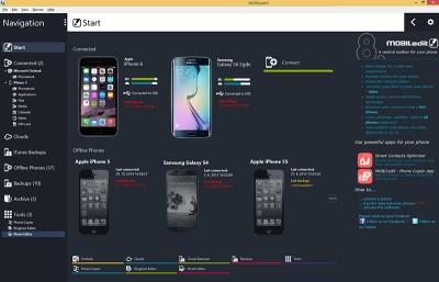 MOBILedit 8.1 screenshot