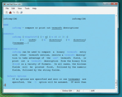 Mocha Telnet for Windows 7/8/10 2.3 screenshot