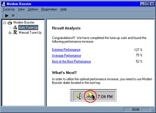 Modem Booster 3.0 screenshot
