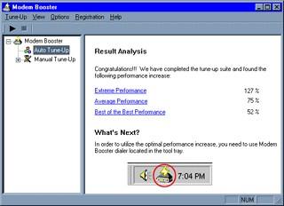 Modem Booster 3.0 screenshot