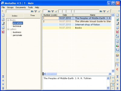ModusDoc 7.3.315 screenshot