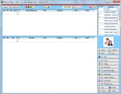Mokum Mail LITE 9.3 screenshot