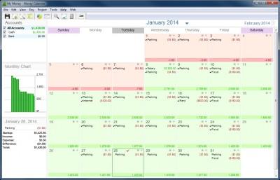 Money Calendar Lite 5.0.0.6917 screenshot