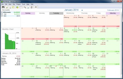 Money Calendar 5.0.0.6916 screenshot
