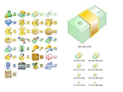 Money Icon Set 2013.3 screenshot