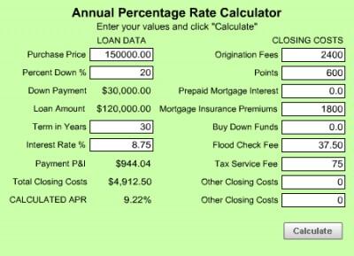 MoneyToys APR Calculator 3.0 screenshot