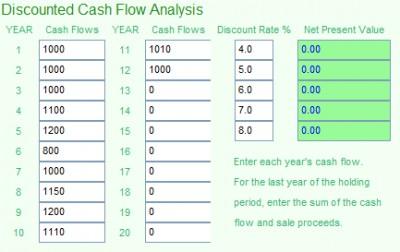 MoneyToys Discounted Cash Flow Calculato 2.1.1 screenshot