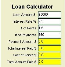 MoneyToys Simple Loan Calculator 2.1.1 screenshot
