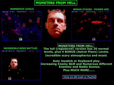 Monsters From Hell 13.0 screenshot