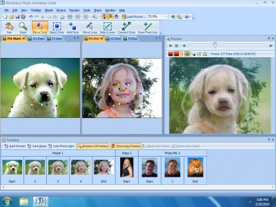 Morpheus Photo Animation Suite 3.17 screenshot