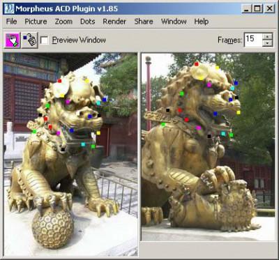 Morpheus Photo Animator 1.85 screenshot