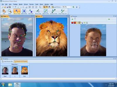 Morpheus Photo Mixer 3.17 screenshot