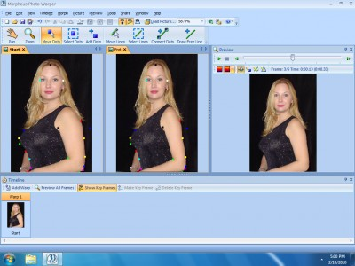 Morpheus Photo Warper 3.17 screenshot